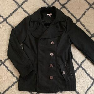Black Bongo Coat Size Large